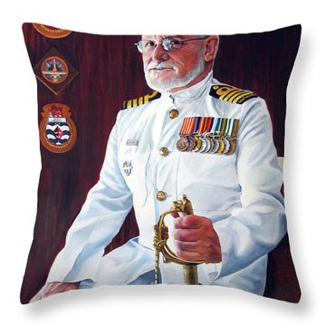 Capt John Lamont Throw Pillow