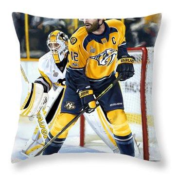 Captain My Captain Throw Pillow