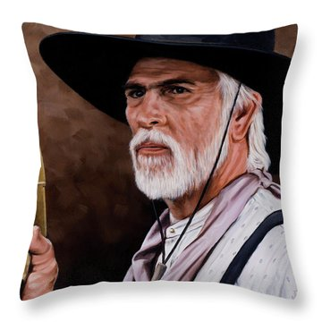 Captain Woodrow F Call Throw Pillow by Rick McKinney