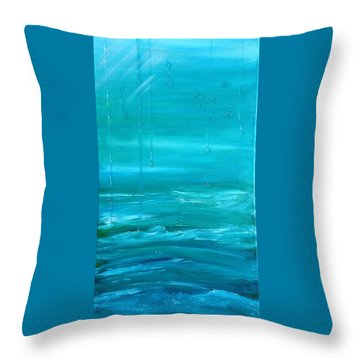 Captain's View Throw Pillow