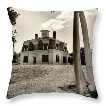 Captions Home Throw Pillow by Raymond Earley