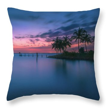 Throw Pillow featuring the photograph Captiva Sunset by Francisco Gomez