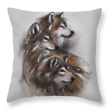 Captivated Throw Pillow