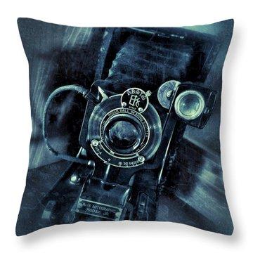 Captured Antique Throw Pillow