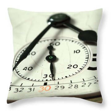 Captured Time Throw Pillow by Michael McGowan