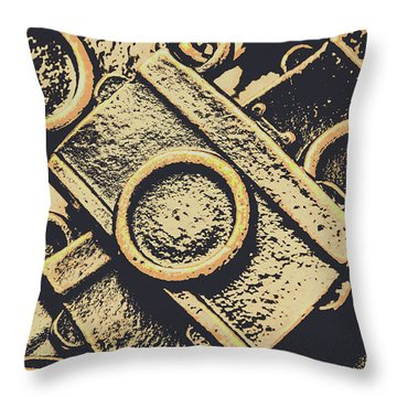 Capturing Memories And Nostalgia Throw Pillow