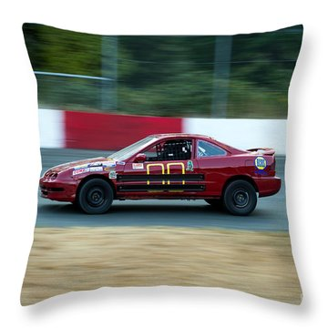 Car 00 In The Turn Throw Pillow