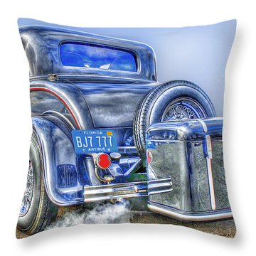 Car 54 Rear Throw Pillow