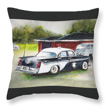 Car 54 Where Are You ? Throw Pillow