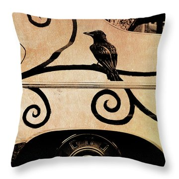 Car Art Throw Pillow