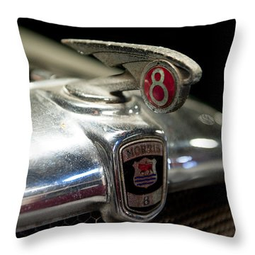 Car Mascot Iv Throw Pillow by Helen Northcott