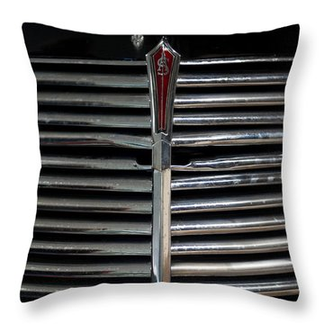 Car Radiator I Throw Pillow by Helen Northcott