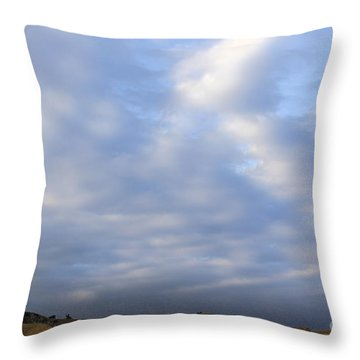 Throw Pillow featuring the photograph Carbon Canyon Hills And Big Sky by Viktor Savchenko