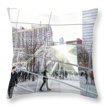 Throw Pillow featuring the photograph Carbon Copy Image Art by Jo Ann Tomaselli