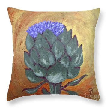 Carciofo  Throw Pillow