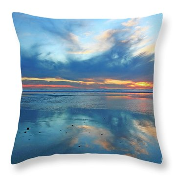 San Elijo Sky Throw Pillow