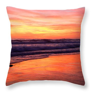 Cardiff Colors  Throw Pillow