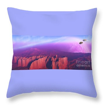 Cardinal Pointe Throw Pillow by Corey Ford