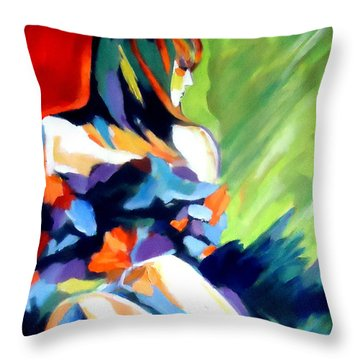 Care Free Throw Pillow