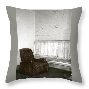 Care To Relax? Throw Pillow