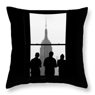 Careful Observation Throw Pillow