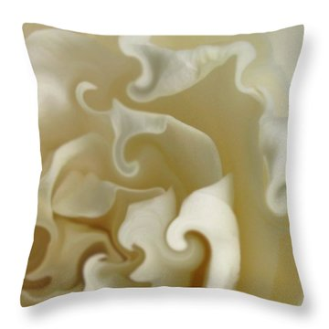 Careless Whispers Throw Pillow