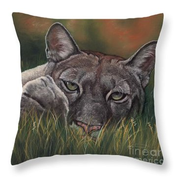 Carez...i Has None Throw Pillow by Sheri Gordon
