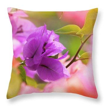 Caribbean Mood Throw Pillow by Bulik Elena
