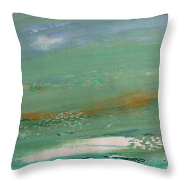 Caribbean Throw Pillow