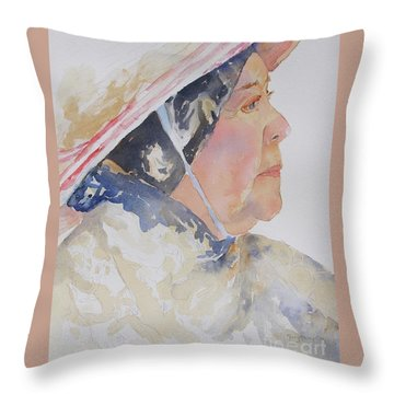 Caribbean Sun Throw Pillow