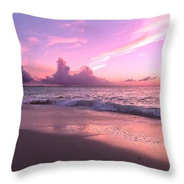 Caribbean Tranquility  Throw Pillow