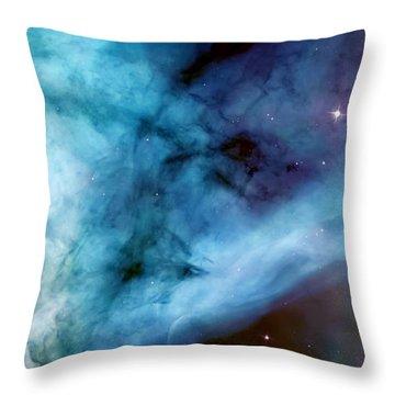 Carina Nebula #5 Throw Pillow by Jennifer Rondinelli Reilly - Fine Art Photography