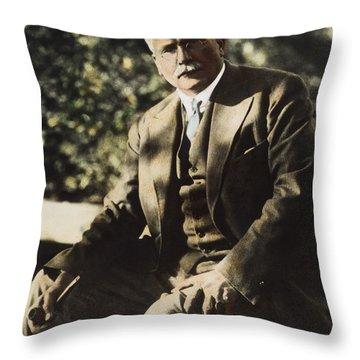 Carl G. Jung  Throw Pillow by Granger