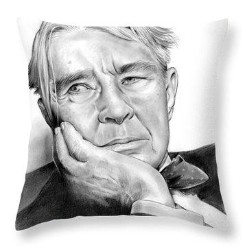 Carl Sandberg Throw Pillow