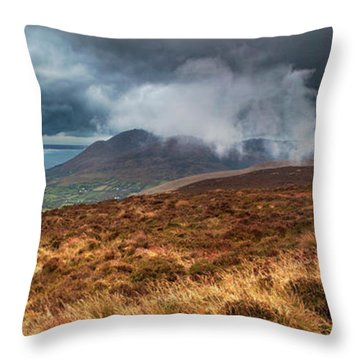 Carlingford Lough Throw Pillow by Marty Garland