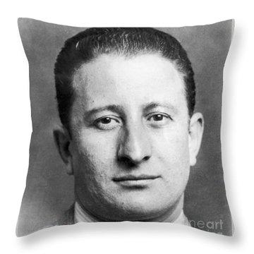 Carlo Gambino Throw Pillow