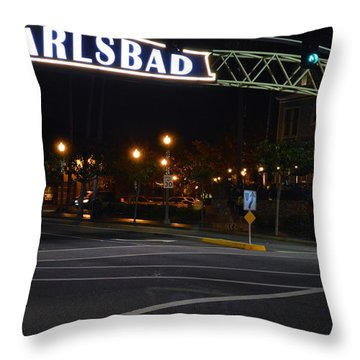 Carlsbad 24 Throw Pillow