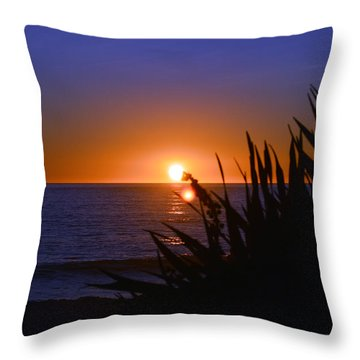 Carlsbad Romance Throw Pillow by Bill Dutting