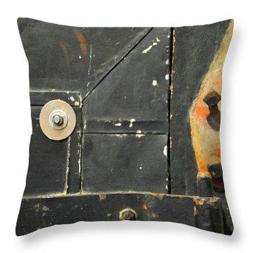 Carlton 10 - Firedoor Detail Throw Pillow