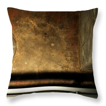 Carlton 13 - Abstract From The Bridge Throw Pillow