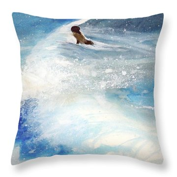 Carmel By The Sea Throw Pillow
