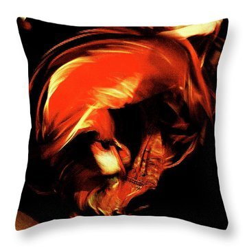 Throw Pillow featuring the photograph Carmen by Danica Radman