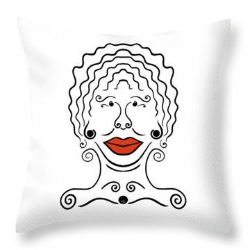 Carmina Throw Pillow