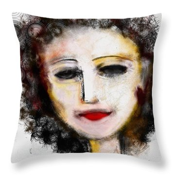 Carmine Throw Pillow by Elaine Lanoue