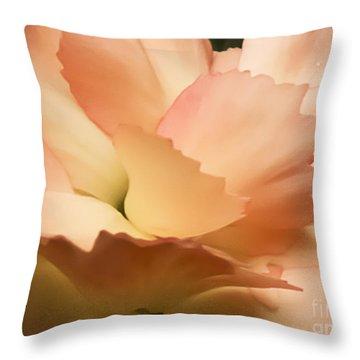 Carnation 3 Throw Pillow