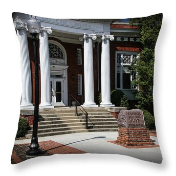 Carnegie Library Throw Pillow
