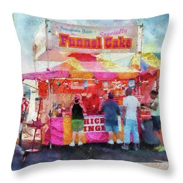 Carnival - The Variety Is Endless Throw Pillow by Mike Savad