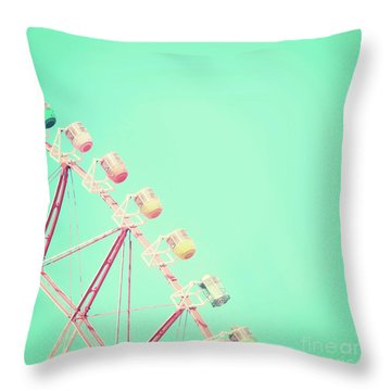 Throw Pillow featuring the photograph Carnival by Delphimages Photo Creations