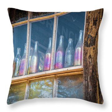 Carnival Glass Throw Pillow