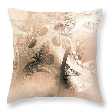 Carnival Mystery Throw Pillow